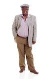 Ανώτερο αφρικανικό άτομο στοκ φωτογραφία