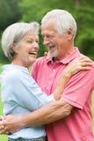 Ανώτερο ζεύγος ερωτευμένο στοκ φωτογραφίες με δικαίωμα ελεύθερης χρήσης
