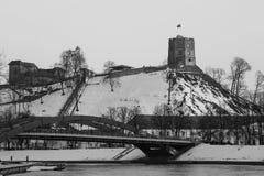 Ανώτερο κάστρο Vilnius Στοκ εικόνα με δικαίωμα ελεύθερης χρήσης