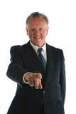 Ανώτερο πορτρέτο επιχειρηματιών Στοκ Εικόνες