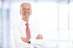 Ανώτερο πορτρέτο επιχειρηματιών Στοκ φωτογραφία με δικαίωμα ελεύθερης χρήσης