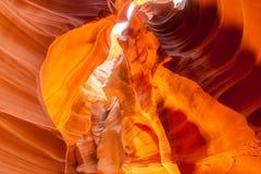 Ανώτερο φαράγγι αντιλοπών, σελίδα Utah Στοκ Εικόνες