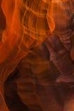 Ανώτερο φαράγγι Anthelope Στοκ φωτογραφία με δικαίωμα ελεύθερης χρήσης