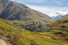 Ανώτερο Svaneti, Γεωργία στοκ εικόνες με δικαίωμα ελεύθερης χρήσης