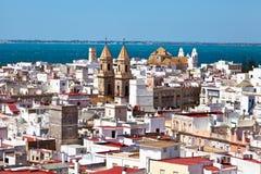 Ανδαλουσία Καντίζ Ισπανί&al Στοκ εικόνα με δικαίωμα ελεύθερης χρήσης
