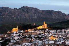 Ανδαλουσιακή πόλη Antequera, Ισπανία Στοκ εικόνα με δικαίωμα ελεύθερης χρήσης