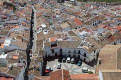 Ανδαλουσιακή πόλη Olvera, Ισπανία στοκ εικόνα