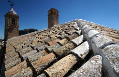 Ανδαλουσιακό μοναστήρι Στοκ φωτογραφία με δικαίωμα ελεύθερης χρήσης