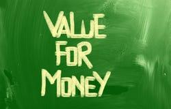 Αξία για την έννοια χρημάτων Στοκ φωτογραφίες με δικαίωμα ελεύθερης χρήσης