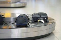 Αξίωση αποσκευών Αφηρημένη γραμμή αποσκευών στοκ εικόνα