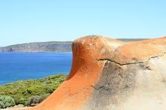 Αξιοπρόσεκτοι βράχοι, εθνικό πάρκο αυλακώματος Flinders, νησί καγκουρό Στοκ φωτογραφία με δικαίωμα ελεύθερης χρήσης