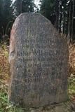 Αξιοσημείωτος κυνηγώντας την πέτρα που τίθεται στις θέσεις που κυνηγούν Kaiser Wilhelm με τις ημερομηνίες και την ποιότητα των ελ Στοκ Φωτογραφίες