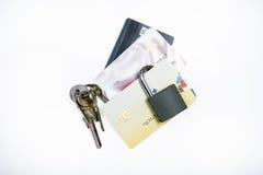 Απάτη τραπεζικών καρτών στοκ εικόνες