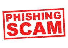 Απάτη Phishing διανυσματική απεικόνιση