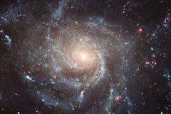 Απίστευτα όμορφος γαλαξίας κάπου στο βαθύ διάστημα Ταπετσαρία επιστημονικής φαντασίας στοκ φωτογραφίες