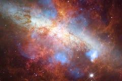 Απίστευτα όμορφος γαλαξίας πολλά ελαφριά έτη μακριά από τη γη στοκ φωτογραφία με δικαίωμα ελεύθερης χρήσης