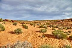 Απίστευτα όμορφο τοπίο στο εθνικό πάρκο, Αριζόνα ΗΠΑ Στοκ Φωτογραφία