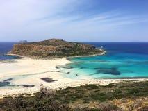 Απίστευτες παραλίες ομορφιάς της Κρήτης Στοκ Εικόνες