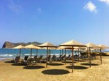 Απίστευτες παραλίες ομορφιάς της Κρήτης Στοκ φωτογραφία με δικαίωμα ελεύθερης χρήσης