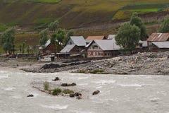 Απίστευτη ομορφιά της κοιλάδας του Κασμίρ sonmarg πλησίον Στοκ Φωτογραφίες