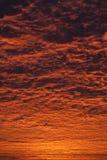 Απίστευτος ουρανός ανατολής ή ηλιοβασιλέματος στοκ εικόνες