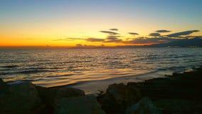 απίστευτο ηλιοβασίλεμα στοκ εικόνα με δικαίωμα ελεύθερης χρήσης