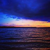 απίστευτο ηλιοβασίλεμα Στοκ φωτογραφίες με δικαίωμα ελεύθερης χρήσης