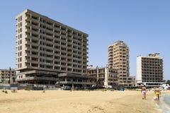 Απαγορευμένη ζώνη - Famagusta - τουρκική Κύπρος στοκ εικόνες