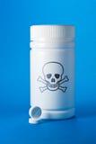 απαγορευμένη κιβώτιο ια&tau Στοκ φωτογραφία με δικαίωμα ελεύθερης χρήσης