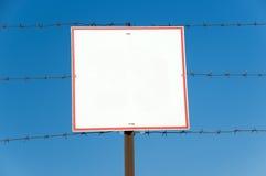 απαγορευμένη πινακίδα Στοκ Φωτογραφία