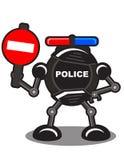 απαγορευμένο ρομπότ διανυσματική απεικόνιση