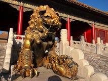 Απαγορευμένο το Πεκίνο παλάτι πόλεων Στοκ φωτογραφία με δικαίωμα ελεύθερης χρήσης