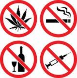 απαγορεύοντας διάνυσμα & Στοκ Φωτογραφίες