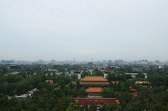 Απαγορεύω-πόλη της Κίνας Πεκίνο Στοκ Φωτογραφίες