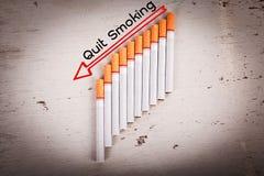 Απαγόρευση του καπνίσματος έννοιας Στοκ φωτογραφία με δικαίωμα ελεύθερης χρήσης