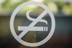 Απαγόρευση του καπνίσματος και Στοκ Εικόνα