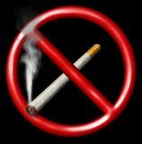 Απαγόρευση του καπνίσματος Στοκ φωτογραφίες με δικαίωμα ελεύθερης χρήσης