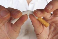Απαγόρευση του καπνίσματος Στοκ φωτογραφία με δικαίωμα ελεύθερης χρήσης