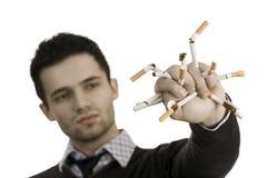 απαγόρευση του καπνίσματος Στοκ εικόνα με δικαίωμα ελεύθερης χρήσης