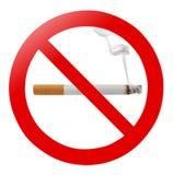 απαγόρευση του καπνίσμα&ta Στοκ Φωτογραφία