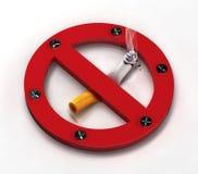 απαγόρευση του καπνίσμα&ta Στοκ φωτογραφία με δικαίωμα ελεύθερης χρήσης