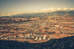 Απαγόρευση του πανοράματος Καλιφόρνιας Στοκ εικόνα με δικαίωμα ελεύθερης χρήσης