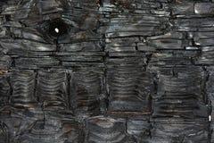 Απανθρακωμένη ξύλινος-σύσταση Cedarwood στην Ταϊβάν Στοκ εικόνα με δικαίωμα ελεύθερης χρήσης