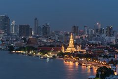 Απαρατήρητη Ταϊλάνδη, ναός της Dawn, στοκ εικόνες
