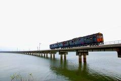Απαρατήρητο τραίνο της Ταϊλάνδης του lopburi Στοκ φωτογραφίες με δικαίωμα ελεύθερης χρήσης