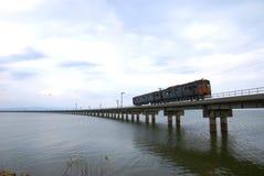 Απαρατήρητο τραίνο της Ταϊλάνδης του lopburi Στοκ Εικόνες