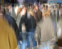 απασχολημένη κεντρική οδός Στοκ φωτογραφίες με δικαίωμα ελεύθερης χρήσης