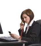 απασχολημένη κλήση στοκ εικόνες με δικαίωμα ελεύθερης χρήσης