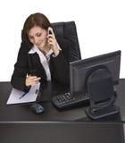 απασχολημένη κλήση στοκ φωτογραφία με δικαίωμα ελεύθερης χρήσης
