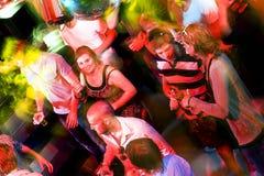 απασχολημένη πίστα χορού Στοκ εικόνες με δικαίωμα ελεύθερης χρήσης